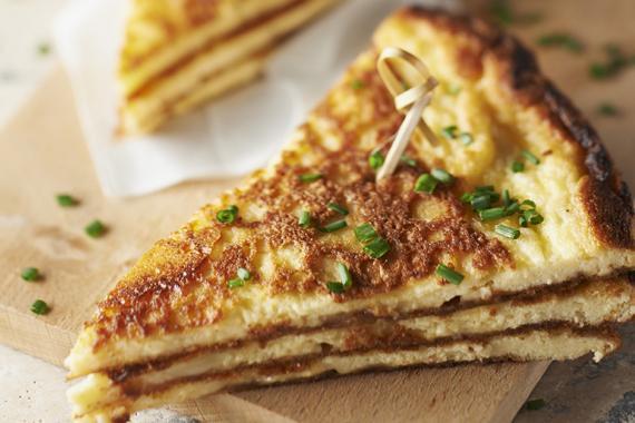 Club omelette camembert